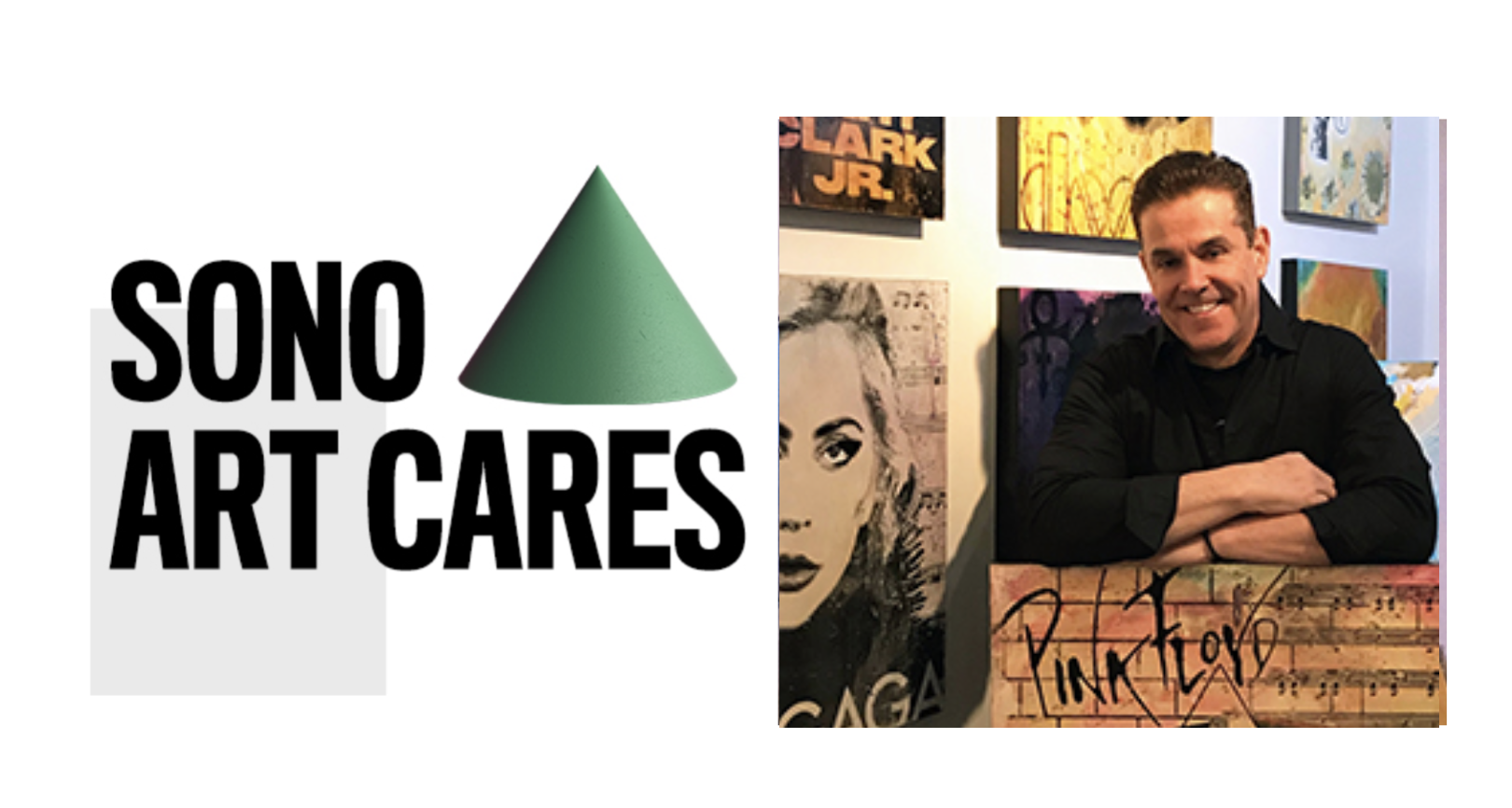 "The SoNo Collection, ""SoNo Art Cares:"" Robert Abriola Live Painting"